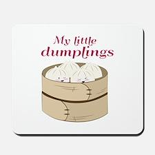 My Little Dumplings Mousepad