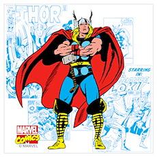 Marvel Comics Thor Wall Art Poster