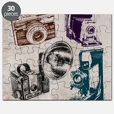 retro photographer vintage camera Puzzle