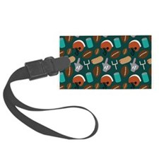 Football Game Day Fan Luggage Tag