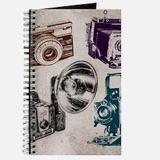 Funny Vintage polaroid cameras Journal