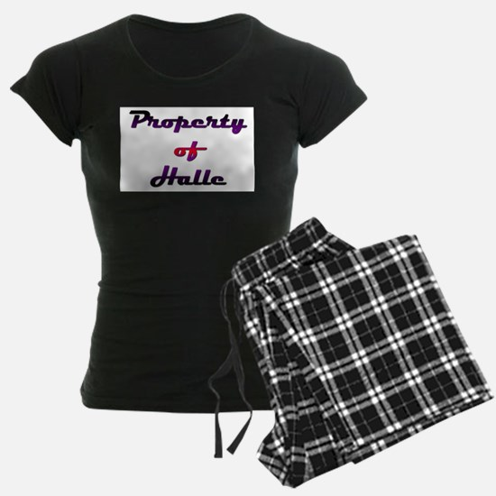 Property Of Halle Female Pajamas