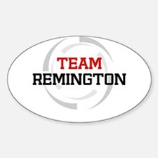 Remington Oval Decal