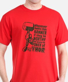 Marvel Comics Thor Retro Thor's Hamme T-Shirt