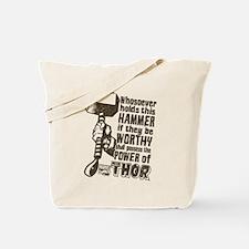 Marvel Comics Thor Retro Thor's Hammer Tote Bag