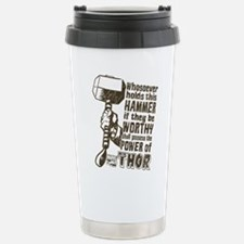 Marvel Comics Thor Retr Stainless Steel Travel Mug