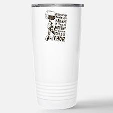 Marvel Comics Thor Retr Travel Mug