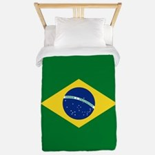 Brazil Flag Twin Duvet