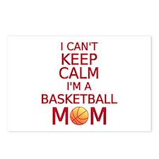 I can't keep calm, I am a basketball mom Postcards