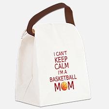 I can't keep calm, I am a basketball mom Canvas Lu