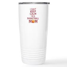 I can't keep calm, I am a basketball mom Travel Mu