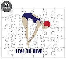 Live To Dive Puzzle
