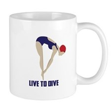 Live To Dive Mugs