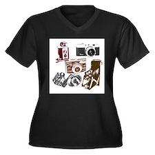 retro photogr Plus Size T-Shirt