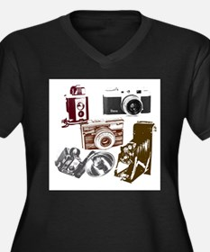 retro photogr Plus Size T-Shirt