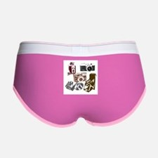 Cute Retro Women's Boy Brief
