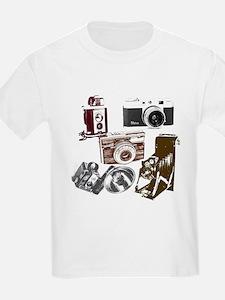 retro photographer vintage camera T-Shirt