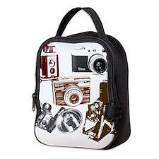 Unique Camera Neoprene Lunch Bag