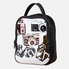 Unique Vintage Neoprene Lunch Bag