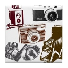 Cute Film maker Tile Coaster