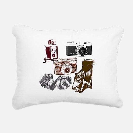 Funny Camera Rectangular Canvas Pillow