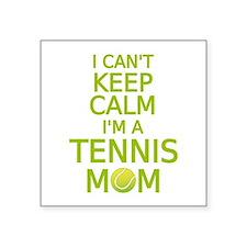 I can't keep calm, I am a tennis mom Sticker