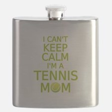 I can't keep calm, I am a tennis mom Flask