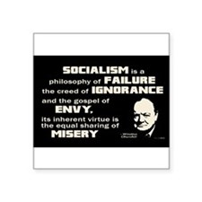 SocialismChurch-5x3 Sticker