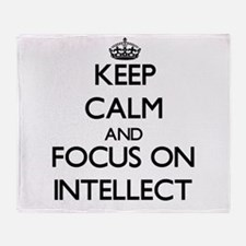 Intellect Throw Blanket