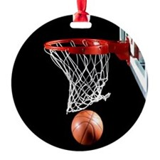 Basketball Point Ornament