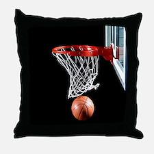 Basketball Point Throw Pillow
