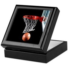 Basketball Point Keepsake Box