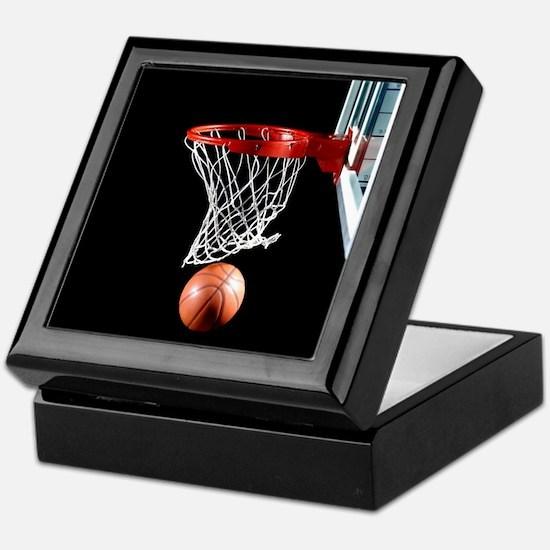 Basketball Point Keepsake Box