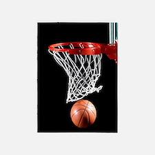 Basketball Point 5'x7'Area Rug