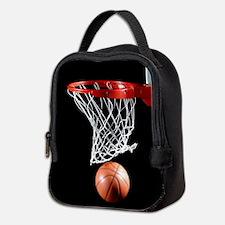 Basketball Point Neoprene Lunch Bag