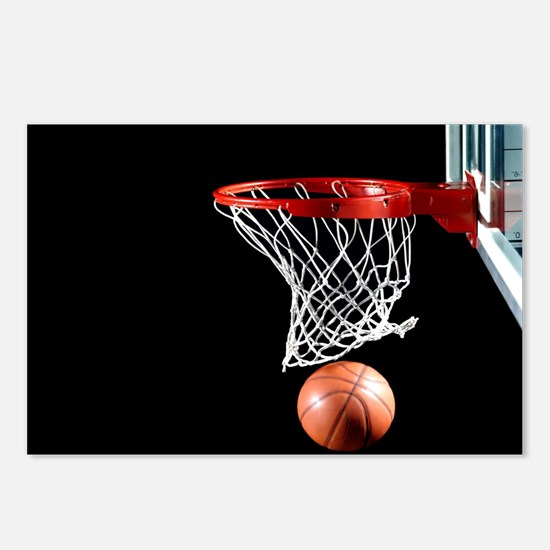 Basketball Point Postcards (Package of 8)