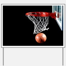Basketball Point Yard Sign