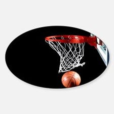 Basketball Point Decal