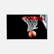 Basketball Point 3'x5' Area Rug