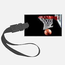 Basketball Point Luggage Tag
