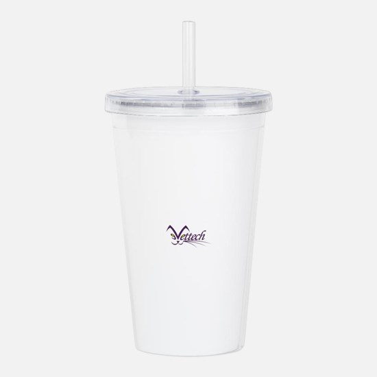 Cute Tech Acrylic Double-wall Tumbler