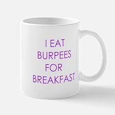I eat burpees Mugs