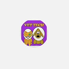 Unique Veterinary technician Mini Button