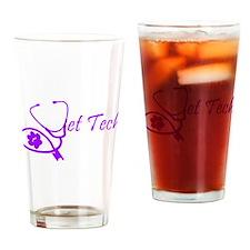 Cute Vet techs Drinking Glass