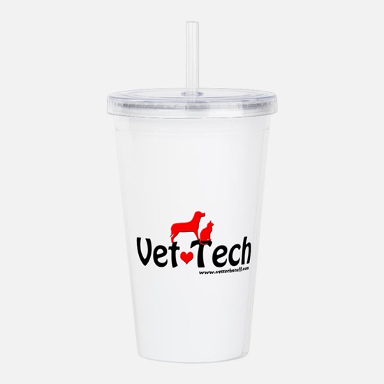 Unique Tech Acrylic Double-wall Tumbler