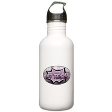 retro cartoon vet tech Water Bottle