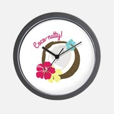 Coco-nutty Wall Clock