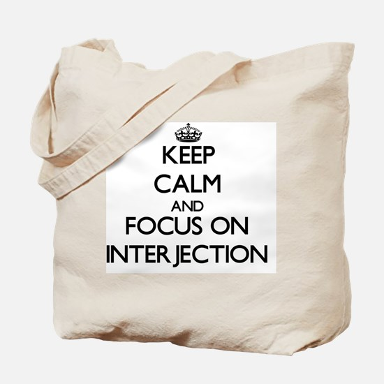 Cute Interjections Tote Bag