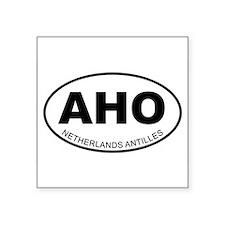 "Cute Netherlands antilles Square Sticker 3"" x 3"""