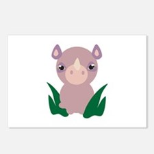 Little Rhino Postcards (Package of 8)
